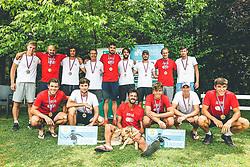Finale Telemach 1. moske clanske lige med TK Triglav Kranj in TK Terme Ptuj,  on June 27, 2021 in Kranj, Slovenia. Photo by Vid Ponikvar / Sportida
