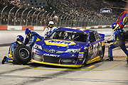 May 10, 2013: NASCAR Southern 500. Martin Truex Jr., Toyota , pitstop , Jamey Price / Getty Images 2013 (NOT AVAILABLE FOR EDITORIAL OR COMMERCIAL USE