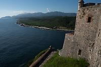 San de la Roca Castle, Santiago, Cuba 2020 from Santiago to Havana, and in between.  Santiago, Baracoa, Guantanamo, Holguin, Las Tunas, Camaguey, Santi Spiritus, Trinidad, Santa Clara, Cienfuegos, Matanzas, Havana