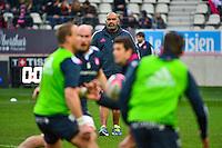 Simon RAIWALUI - 14.03.2015 - Stade Francais / Grenoble -  20eme journee de Top 14<br /> Photo : David Winter  / Icon Sport<br /> <br />   *** Local Caption ***