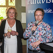 NLD/Hilversum/20160527 - Lancering Paravisie editie, Viola Holt en Niels Bruggeman