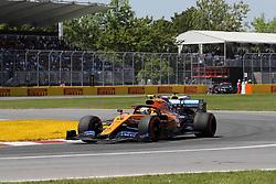 June 9, 2019 - Montreal, Canada - xa9; Photo4 / LaPresse.09/06/2019 Montreal, Canada.Sport .Grand Prix Formula One Canada 2019.In the pic: Lando Norris (GBR) Mclaren F1 Team MCL34 (Credit Image: © Photo4/Lapresse via ZUMA Press)