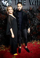 Natalie Herron and Royce Pierreson at THE WORLD PREMIERE OFTHE WITCHER at Vue Leicester Square London,  UK - 16 Dec 2019 photo by  Brian Jordan