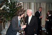 HENRY HUDSON; MICHAEL CRAIG-MARTIN, Book launch party for the paperback of Nicky Haslam's book 'Sheer Opulence', at The Westbury Hotel. London. 21 April 2010