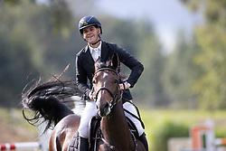 Van der Linden Sam, BEL, Mona de Regor<br /> Nationaal Kampioenschap LRV<br /> Lummen 2020<br />  26/09/2020