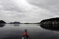 Ålesund seen from kayak - Ålesund sett fra kajakk