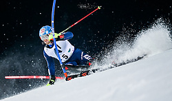26.01.2016, Planai, Schladming, AUT, FIS Weltcup Ski Alpin, Schladming, Slalom, Herren, 1. Durchgang, im Bild Stefano Gross (ITA) // Stefano Gross of Italy competes during his 1st run of men's Slalom Race of Schladming FIS Ski Alpine World Cup at the Planai in Schladming, Austria on 2016/01/26. EXPA Pictures © 2016, PhotoCredit: EXPA/ Johann Groder