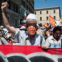 Sindacati di Base contro Governo Monti