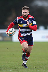 Luke Morahan of Bristol Rugby - Mandatory by-line: Dougie Allward/JMP - 30/12/2017 - RUGBY - The Athletic Ground - Richmond, England - Richmond v Bristol Rugby - Greene King IPA Championship
