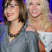 NLD/Hilversum/20120821 - Perspresentatie RTL Nederland 2012 / 2013, Britt & Imke, Imke Wieringa en Britt Dekker