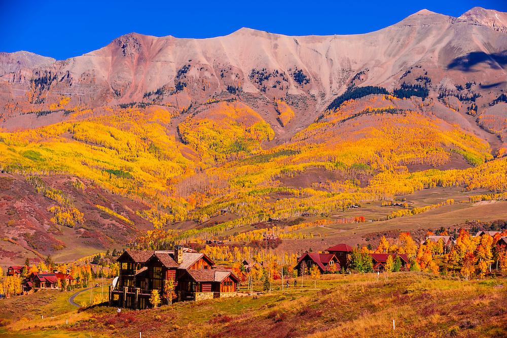 Telluride Mountain Village, Telluride, Colorado USA.