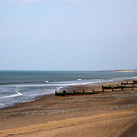 Europe, Great Britain, Wales. Tywyn Beach, Wales;