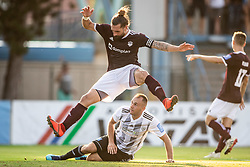 Luka Majcen of Triglav during football match between NK Triglav and NS Mura in 5th Round of Prva liga Telekom Slovenije 2019/20, on August 10, 2019 in Sports park, Kranj, Slovenia. Photo by Vid Ponikvar / Sportida