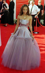 Actress Tyra Banks at the 72nd Annual Academy Awards [The Oscars] at the Shrine Auditorium in Los Angeles, USA where she was one of the official commentators for the award ceremony.