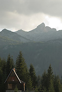 Cottage at Ivan do with view of Minin bogaz, Durmitor national park, Montenegro