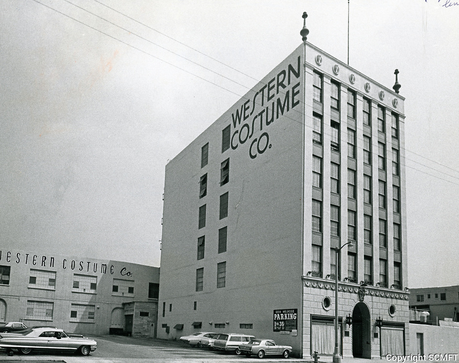 1969 Wester Costume Co. on Melrose Ave.