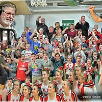 2.20.2015 Lutheran West at Columbia Boys Varsity Basketball