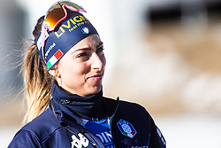 Lisa Vittozzi (ITA) before the Women 15 km Individual Competition at day 2 of IBU Biathlon World Cup 2019/20 Pokljuka, on January 23, 2020 in Rudno polje, Pokljuka, Pokljuka, Slovenia. Photo by Peter Podobnik / Sportida