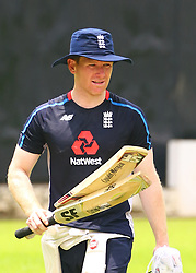 October 3, 2018 - Colombo, Sri Lanka - England cricket captain Eoin Morgan during a practice session at the P. Sara Oval Cricket Stadium in Colombo,Sri Lanka, Wednesday, October 3, 2018. (Credit Image: © Pradeep Dambarage/Pacific Press via ZUMA Wire)