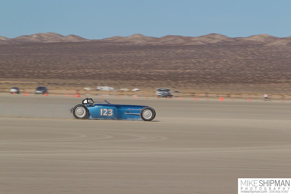 Erik Hansson, 123, eng XF, body BGR, driver Erik Hansson, 144.919 mph, record 161.638