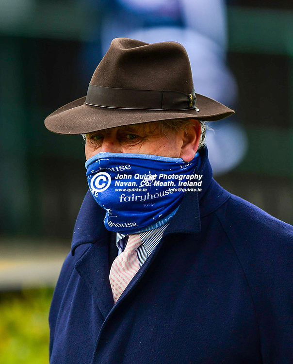 Trainer: Noel Meade,  at Fairyhouse Races Fairyhouse Easter Festival.<br /> <br /> Photo: GERRY SHANAHAN-WWW.QUIRKE.IE<br /> <br /> 05-04-2021