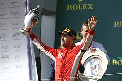 July 29, 2018 - Budapest, Hungary - Motorsports: FIA Formula One World Championship 2018, Grand Prix of Hungary, ..#5 Sebastian Vettel (GER, Scuderia Ferrari) (Credit Image: © Hoch Zwei via ZUMA Wire)
