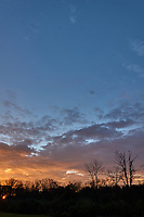Autumn Sunrise Panorama. Five of seven images taken with a Leica CL camera and 18 mm f/2.8 lens (ISO 200, 18 mm, f/11, 1/60 sec).