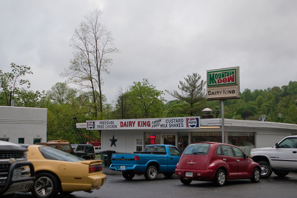 The Dairy King in downtown Damascus, Virginia.