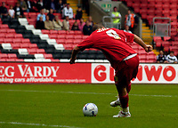 Photo: Jed Wee.<br />Darlington v Swindon Town. Coca Cola League 2. 19/08/2006.<br /><br />Swindon's Christian Roberts scores to put them 2-0 up.
