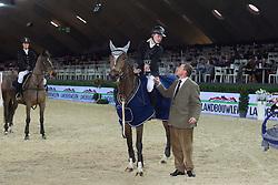 Landbouwleven Darco Cup<br /> Winners team Heartbreaker<br /> Kenis Pieter - El Charro<br /> Jumping  Mechelen 2011<br /> © Dirk Caremans