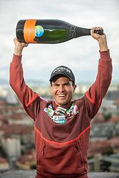 Jernej Damjan, Slovenian Ski jumper, retires from his professional nordic career, on May 13, 2021 in Ljubljana's castle, Ljubljana, Slovenia. Photo by Jurij Vodusek / Sportida