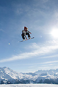 Verbier, Switzerland. March 19th 2010..Verbier Swatch Snowpark - La Chaux..