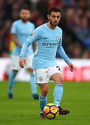 31 December 2017 -  Premier League - Crystal Palace v Manchester City - Bernardo Silva of Manchester City - Photo: Marc Atkins/Offside
