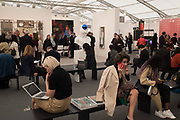 Frieze opening day. Regent's Park. London. 2 October 2019