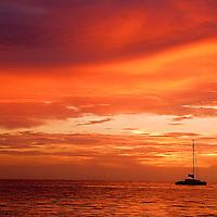 Amazing Sunset Photo Grand Cayman