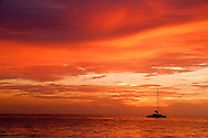 Amazing Sunset Photo Grand Cayman