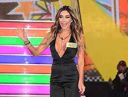 Jasmine Waltz enters the Celebrity Big Brother house at Elstree Studios in Borehamwood, Herfordshire, during the latest series of the Channel 5 reality TV programme.