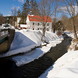 The Saxtons River in Grafton, Vermont.