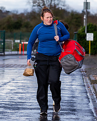 Caryl Thomas of Worcester Warriors Women arrives at Sixways - Mandatory by-line: Nick Browning/JMP - 20/12/2020 - RUGBY - Sixways Stadium - Worcester, England - Worcester Warriors Women v Harlequins Women - Allianz Premier 15s