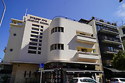 Jacobson's Building Bauhaus Architecture at Mikve Israel St 15, Tel Aviv White City. The White City refers to a collection of over 4,000 buildings built in the Bauhaus or International Style in Tel Aviv from the 1930s by German Jewish architects who emigrated to the British Mandate of Palestine after the rise of the Nazis. Tel Aviv has the largest number of buildings in the Bauhaus/International Style of any city in the world. Preservation, documentation, and exhibitions have brought attention to Tel Aviv's collection of 1930s architecture.