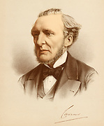 'Hugh McCalmont Cairns, 1st Earl Cairns (1819-1885) Irish-born barrister and Conservative politician. Lord Chancellor 1868 and 1874-1880, Leader of the Conservative Party in the House of Lords 1878-1885.'