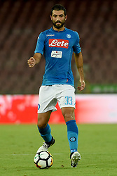 August 10, 2017 - Naples, Naples, Italy - Raul Albiol of SSC Napoli during the Pre-season Frendly match between SSC Napoli and RCD Espanyol at Stadio San Paolo Naples Italy on 10 August 2017. (Credit Image: © Franco Romano/NurPhoto via ZUMA Press)