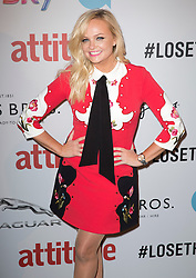 Emma Bunton attends the 2016 Attitude Awards in association with Virgin Holidays, at 8 Northumberland Avenue, London. Monday October 10, 2016. Photo credit should read: Isabel Infantes / EMPICS Entertainment.