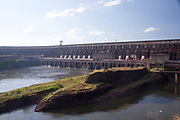 Itaipu dam on the Parana river, Parana state is the second largest hydroelectric project in the World but it produces the most power, providing a third of all Brazil's annual power and all of Paraguay's
