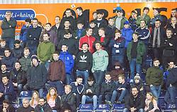 South stand. Falkirk 2 v 0 Livingston, Scottish Championship game played 29/12/2015 at The Falkirk Stadium.