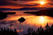 Lake Tahoe Scenic Landscape