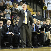 Central Florida head coach Donnie Jones during a Conference USA NCAA basketball game between the Rice Owls and the Central Florida Knights at the UCF Arena on January 22, 2011 in Orlando, Florida. Rice won the game 57-50 and extended the Knights losing streak to 4 games.  (AP Photo/Alex Menendez)