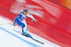 19.01.2011, Tofana, Cortina d Ampezzo, ITA, FIS World Cup Ski Alpin, Lady, Cortina, Abfahrt 1. Training, im Bild Elena Fanchini (ITA, #30) // Elena Fanchini (ITA) during FIS Ski Worldcup ladies downhill first training at pista Tofana in Cortina d Ampezzo, Italy on 19/1/2011. EXPA Pictures © 2011, PhotoCredit: EXPA/ J. Groder