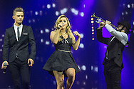 Betsy-Blue English of Only The Young during the X Factor Live Tour 2015 at the Brighton Centre, Brighton & Hove, United Kingdom on 16 March 2015. Photo by Phil Duncan.