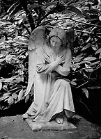 Statue of Angel in <br /> the Grotto, Portland